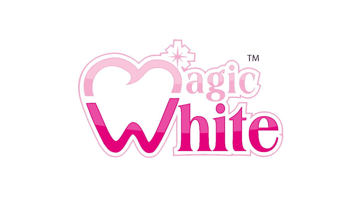 logo magic white